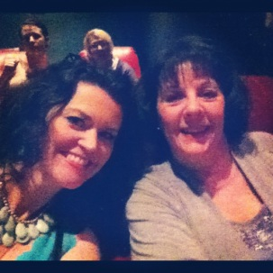 With my MIL at THE GREAT GATSBY. A must-see for film buffs and romantics alike.