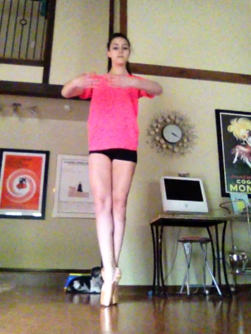 While I vocally don't like my daughter borrowing my iPad for dance videos, the stills are a reminder of her growth as a dancer. And I adore her.