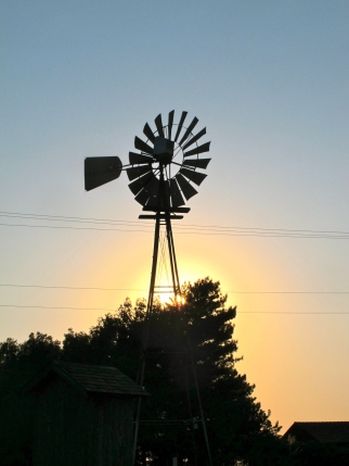 Windmill, Shattuck, Oklahoma