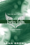 Cover reveal for my upcoming young adult debut series, Messengers, beginning with TWIN FALLS.