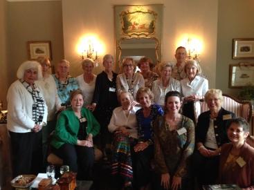Phoenix Book Club in Tulsa, OK. Loved these darling ladies.