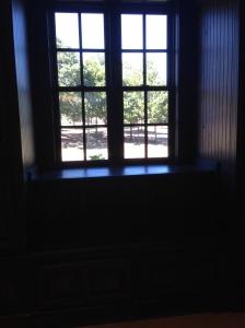 Did a door close? Find the open window.