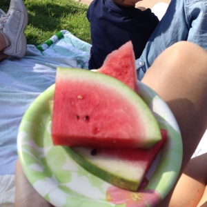 You can't have the 4th without watermelon. I think that's a rule.