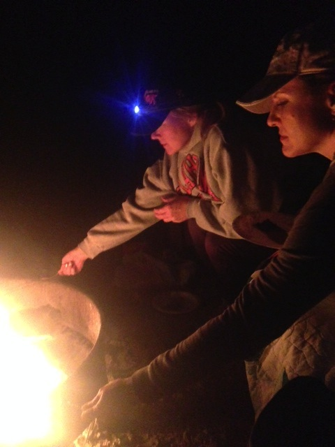 S'mores, country and rap music and lots of laughs.