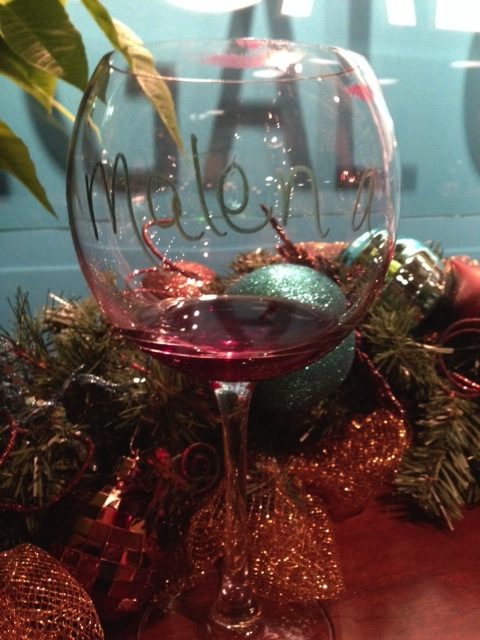 Get Out: Reverie vineyard from Napa Valley at Carrie Palmer's holiday party.