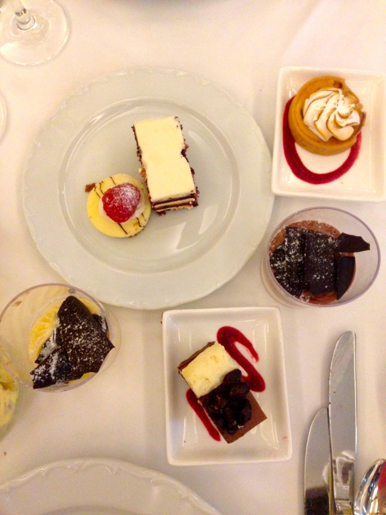 Desserts from Waldorf Astoria's famed brunch. I tried them all.