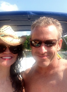 Three days of boating fun with my captain.