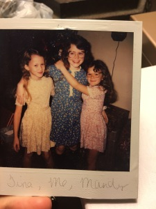 Stairstep sisters.